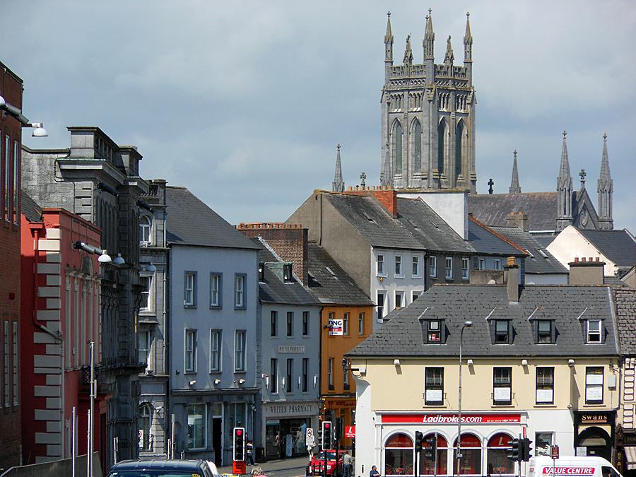 El centro de Kilkenny