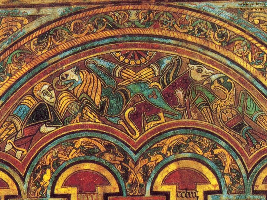 Detalle del Libro de Kells