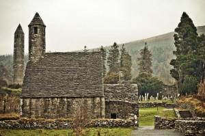 El complejo Monástico de Glendalough. Foto de Catriona Cornett.