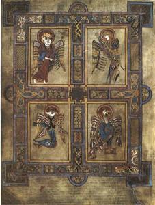 Book of Kells es uno de los ejemplos más famosos e influyentes del arte medieval y la literatura de Irlanda