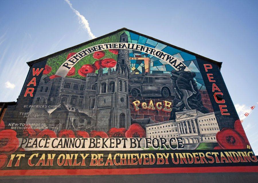 Murales por la Paz en Belfast