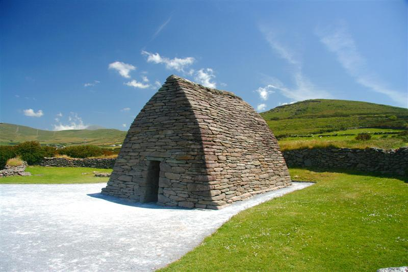 Gallarus Oratory en la península de Dingle