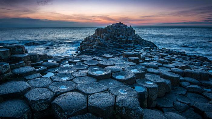 Calzada de los Gigantes en Irlanda del Norte