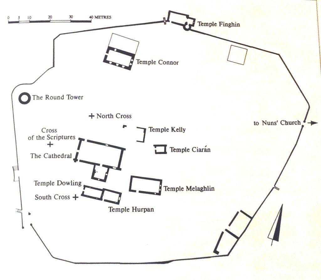 Mapa del conjunto de Clonmacnoise