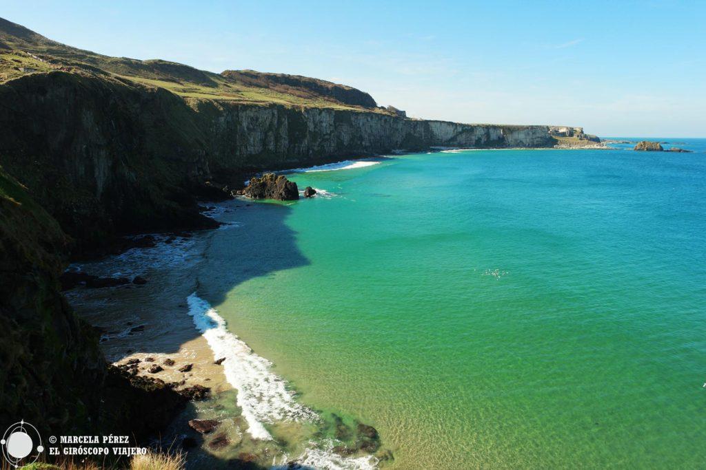 Así se viven los días de sol en la Costa Norte de Irlanda