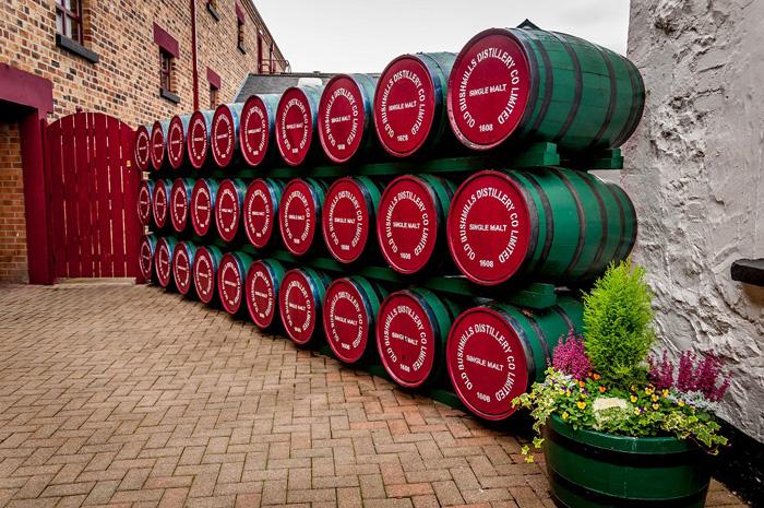 Destilería de Whisky Bushmills